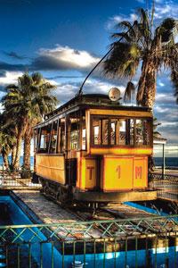 Tram of Malaga